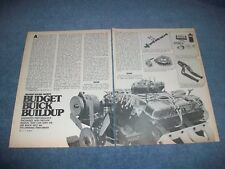 "1977 Kenne Bell 455 Buick Vintage Tech Info Article ""Budget Buick Buildup"""