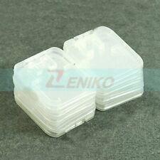 10 piece TF Micro SD SDHC Memory Card Plastic Case Cover White box