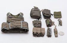1/6 Soldier Story 75th Ranger Regiment Ranger Green EBAV Vest Set *TOY*