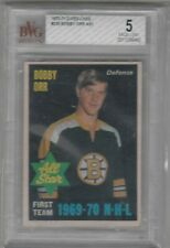 1970 71 OPC O Pee Chee #236 Bobby Orr First Team All Star Bruins HOF BGS 5