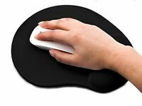 Mouse Pad Mat Comfort Wrist Foam Gel Rest Support  For Computer PC Laptop Black