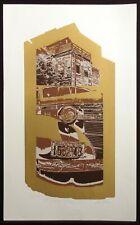 "Dean Konopisos ""Oh! Just Back of Sloppy Joes"" II Signed Serigraph art Print"