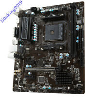 For MSI A320M PRO-VH PLUs Motherboard Socket AM4 DDR4 Tested OK