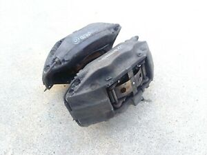 2004 PEUGEOT 607 V6 3.0i 4 POT FRONT BREMBO BRAKE CALIPERS SET LEFT+RIGHT
