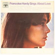 Sings About Love  Francoise Hardy Vinyl Record