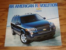 Original 2005 Chevrolet Uplander Deluxe Sales Brochure 05 Chevy 3/05