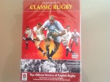 CLASSIC RUGBY DVD BOX SET - OFFICIAL HISTORY OF ENGLISH RUGBY - BRAND NEW