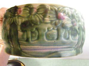 Roseville Vista Forest jardinere Vase Pot Rare