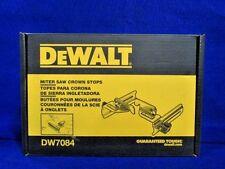 DEWALT DW7084 CROWN STOPS FOR MITER SAWS