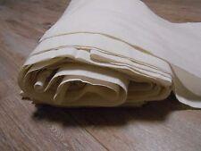"Vintage Handwoven Cotton Fabric Canvas wide 33cm/13"" total 29 meters"