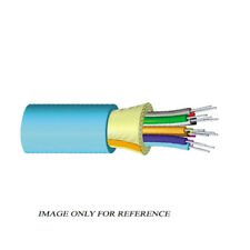 1000' COMMSCOPE 760012138 6F OM4 50µm Gelfree Aqua Plenum TB Distribution Cable