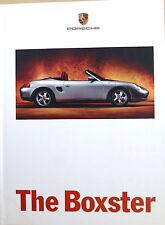 Porsche Boxster Hardback Sales Brochure