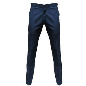 Relco Men's Navy Blue Sta Press Trousers, Mod, Ska, Skinhead, Scooter, 60s,Retro