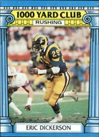 1987 Topps 1000 Yard Club FB Inserts #s 1-24 - U Pick - Buy 10+ cards FREE SHIP