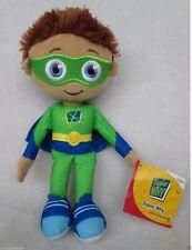 "9"" Rare Learning Curve PBS Show Super Why Whyatt Wyatt Boy Plush Doll Toy New US"