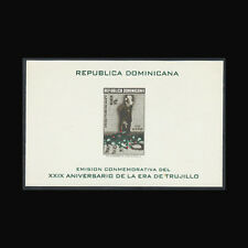 Dominican Republic, Sc #508a, Imp, MNH, 1959, S/S, General Trujillo, FFD-9