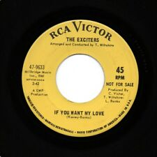 EXCITERS - If You Want My Love / Take One Step - Northern Soul Promo 45 - VG+