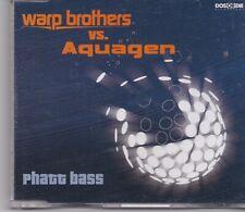 Warp Brothers vs Aquagen-Phatt Bass cd maxi single 6 tracks