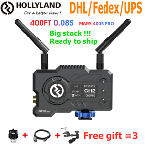 HOLLYLAND Mars 400S PRO Receiver 400FT HDMI SDI 5G Wireless Image transmission