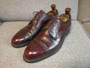 Crockett & Jones Newark UK 9 Brown Leather Shoes for Gordon Scott + Shoe Trees