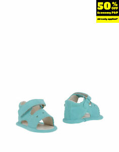 TWIN-SET SIMONA BARBIERI Leather Slingback Sandals EU 17 UK 1 US 2 Made in Italy