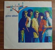 """Single 7"""" Vinyl WIND - ganz allein + alles klar - TOP Wie NEU!"""