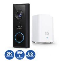 Eufy 2K Video Battery Doorbell + Homebase 16GB Local Storage.No Subscription Req