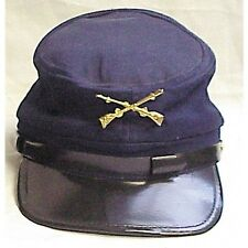 CIVIL WAR Union Kepi Style Hat Infantry Uniform Cotton Cap Adjustable Gettysburg