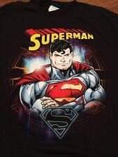 Superman Large T-shirt Classic Look Official Release Man Of Steel Batman 🇺🇸