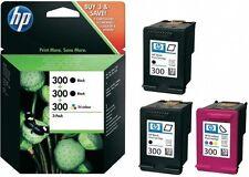 3x HP 300 ORIGINAL TINTE PATRONEN PHOTOSMART C4670 C4680 C4685 C4780 SD518AE SET