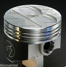 Speed Pro/TRW Pontiac 400 Forged Coated Skirt Flat Top Piston+MOLY Rings Kit +40
