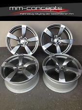 16 Zoll DBV Torino Felgen 7x16 ET35 5x112 Alufelgen Silber ABE für Audi Rotor