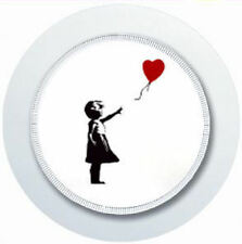BANKSY GIRL AND BALLOON CAR TAX DISC HOLDER REUSABLE PARKING PERMIT HOLDER