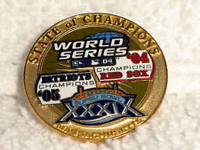 BOSTON RED SOX NEW ENGLAND PATRIOTS 2004 STATE OF CHAMPIONS PIN