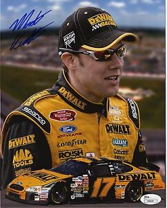 Matt Kenseth 8x10 Signed/Autograph/Auto JSA Authenticated
