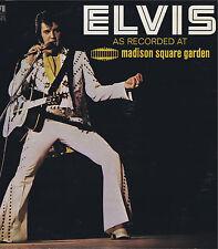 ELVIS As Recorded At Madison Square Garden Vinyl 33LP Rock Music Album EX Stereo