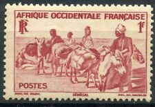 TIMBRES COLONIES FRANCAISES NEUF AFRIQUE OCCIDENTALE N° 30 ** TRANSPORT ANE