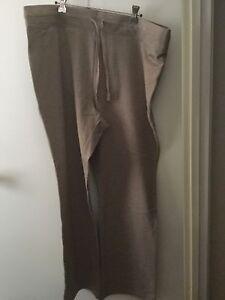 BNWT Regatta Woman SIZE M TROUSERS STRETCH PANTS LIGHT BROWN COTTON TRACKSUIT