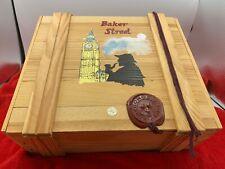 Kurt Adler Polonaise Baker Street Sherlock Holmes Glass Ornaments Box Set Nice!