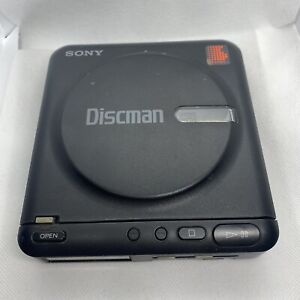 Sony Discman D-2 Personal CD Player VTG 1988 Tested Works Great!!