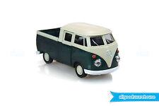 1962 Classic Volkswagen T1 Double Cabin Pickup 1:36 scale Diecast Green model VW
