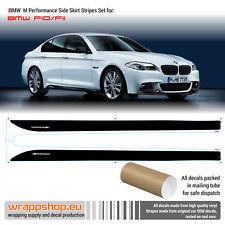 BMW M Performance Side Stripes decals Set for M5 F10 / F11