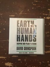 2016 Earth In Human Hands Shaping Our Planet's Future Audiobook New