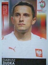Panini 235 Dariusz Dudka Polen UEFA Euro 2008 Austria - Switzerland