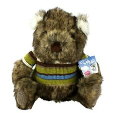 Australian Souvenir Knit n Plush Australia Fauna Wombat Fluffy Super Soft Toy
