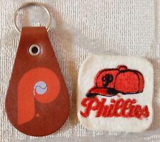 Philadelphia Phillies Keychain Key Chain and Patch