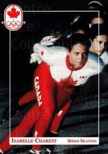 1992 Canadian Olympic Hopefuls #31 Isabelle Charest