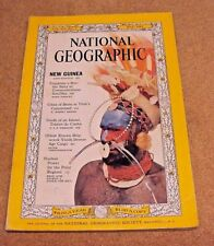 National Geographic Magazine May 1962 New Guinea Satellites Nuclear Power Polar