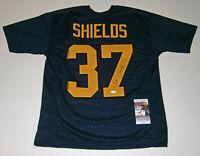 PACKERS Sam Shields signed custom navy jersey w/ #37 JSA COA AUTO Autographed