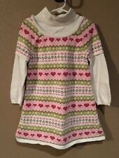 Gymboree GINGERBREAD GIRL Sweater Dress Size 4